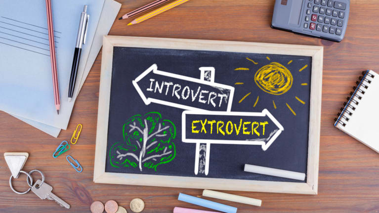 Introverts and extroverts working together