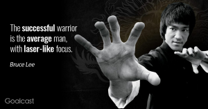 Bruce Lee - Success and Focus